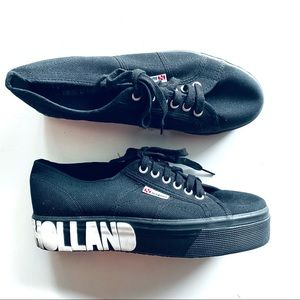 House of Holland x Superga Platform Sneakers